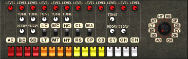 The Propellerhead ReBirth TR-808 clone