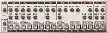 The Propellerhead ReBirth TR-909 clone