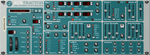 The Propellerhead SubTractor synthesiser